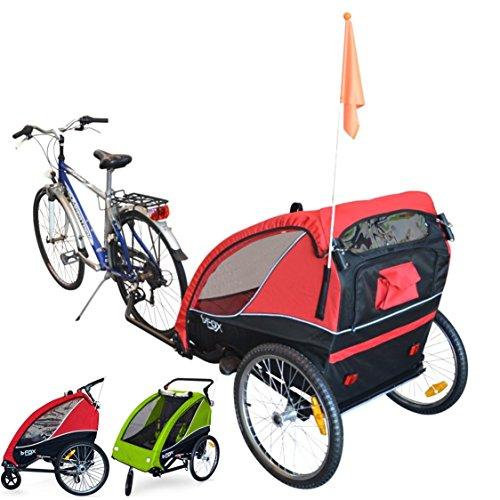 Remorques et poussettes vélo